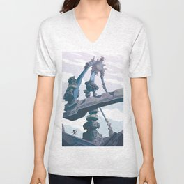 Shadow of the Colossus  Unisex V-Neck