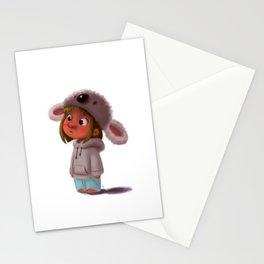 Koala Girl  Stationery Cards