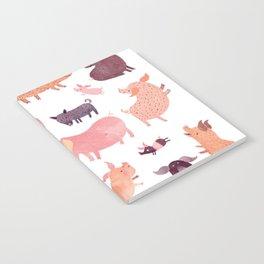 Pig Pig Pig Notebook