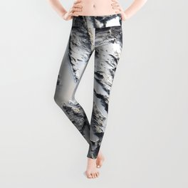 muddy puddle abstract Leggings