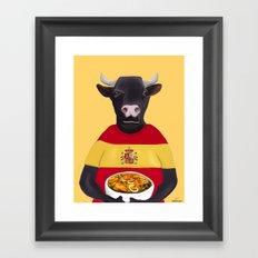 The Spanish Framed Art Print