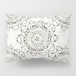 Watercolor Doily - Katrina Niswander Pillow Sham