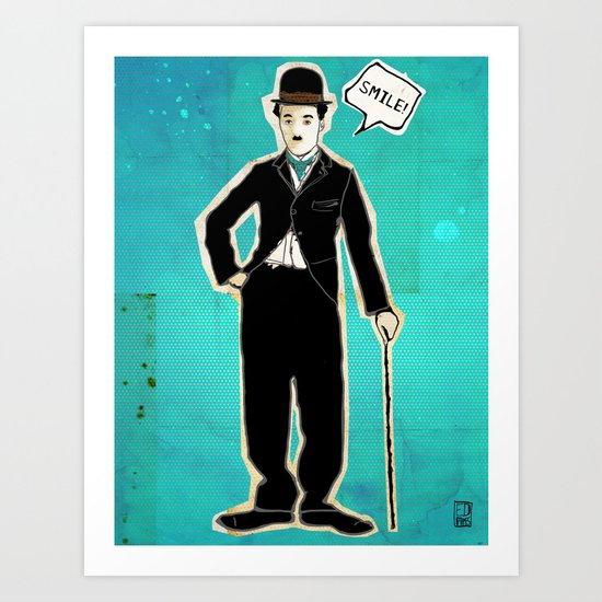 The Tramp/Charlie Chaplin Art Print