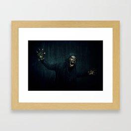 Boogie Horror: Mirror Mask - Attack! Framed Art Print