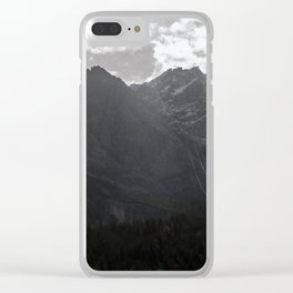 The highest Mountain in Germany Clear iPhone Case