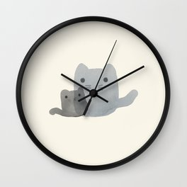 Mom & Me Wall Clock