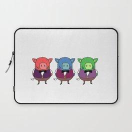 The three little pigs Laptop Sleeve