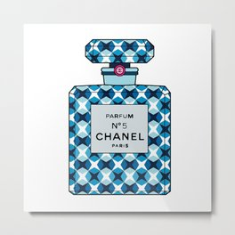 No5 Parfum Bottle 1995 Metal Print
