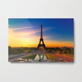 PARIS 17 Metal Print