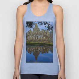 Angkor Thom Temple Cambodia Unisex Tank Top