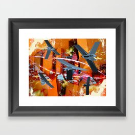 Yeci Framed Art Print