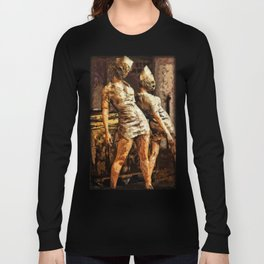 Deadly Duo Silent Hill Nurses Long Sleeve T-shirt