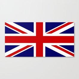 British Union Flag Canvas Print