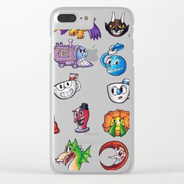 Cuphead Clear iPhone Case