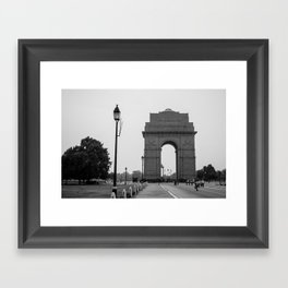 India Gate Framed Art Print