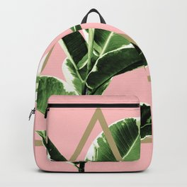 Ficus Elastica Geo Finesse #1 #tropical #foliage #decor #art #society6 Backpack