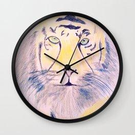 Tiger sketch Wall Clock
