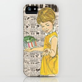 Penny Saved iPhone Case