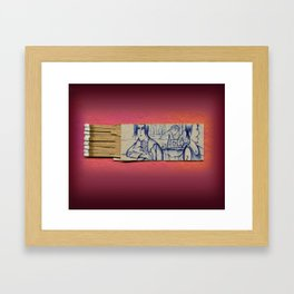 Bleecker Street New York City Framed Art Print