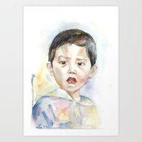 The Hong Kong Boy Art Print