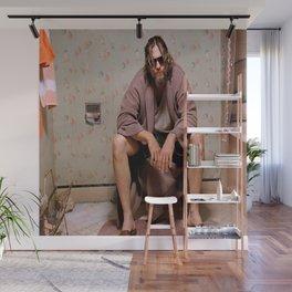 The Dude - Big Lebowski Movie Poster - Funny Bathroom Art, Bathroom Print,Funny Gift Wall Mural