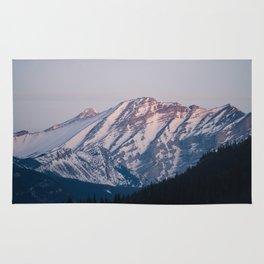 Golden Hour in the Rockies Rug