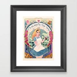 Alice Nouveau Framed Art Print