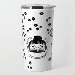 Coffee Girl Travel Mug