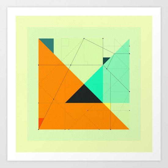 DELINEATION (118) Art Print