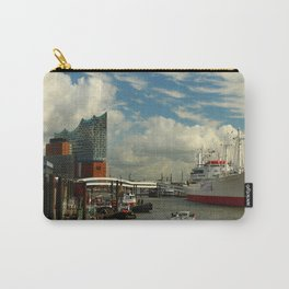 Elbharmonie With Harbor Scene Carry-All Pouch