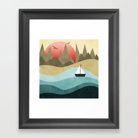 Ocean Adventure 2  Framed Art Print