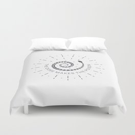 The dose makes the poison Duvet Cover