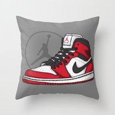 Jordan 1 OG (Chicago) Throw Pillow