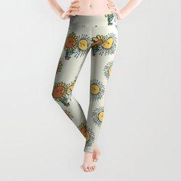 Sun Kissed sunflower Leggings