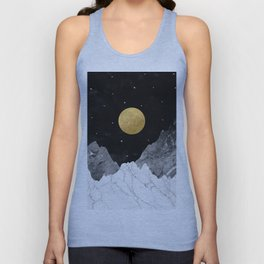Moon and Stars Unisex Tank Top
