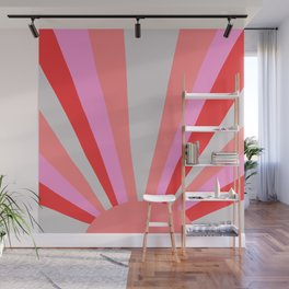 sunshine state, coral Wall Mural