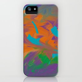 Baby Graffiti iPhone Case