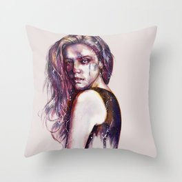 In This Moment Throw Pillow