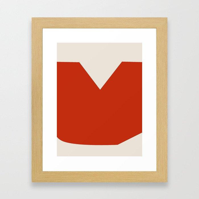 Mid Century Modern Vintage 17 Framed Art Print