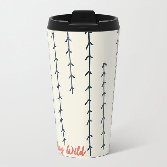 Stay Wild Metal Travel Mug