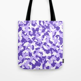 Camouflage Purple Tote Bag