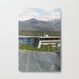 Solar Sky Metal Print