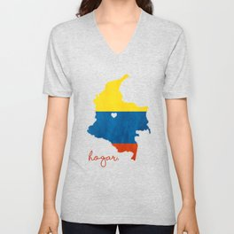 Colombia Unisex V-Neck
