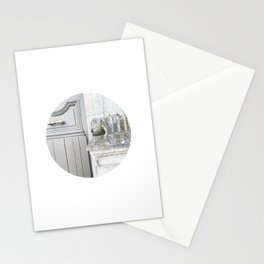 #028 — Old Stone, Wooden Door — Limoges Stationery Cards
