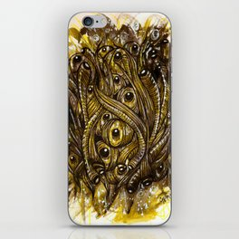 eyes and worms iPhone Skin