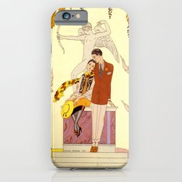 George Barbier - Automne (art deco print) iPhone Case