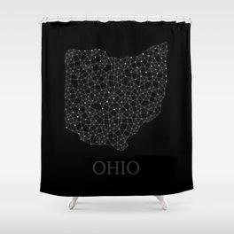 Ohio LineCity B Shower Curtain