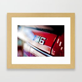 MSix Framed Art Print