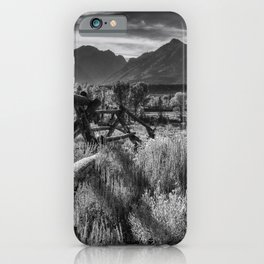 Buck and Rail to the Tetons iPhone Case