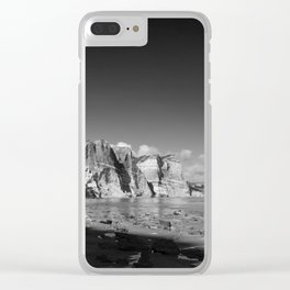 Seeing time Clear iPhone Case